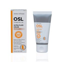 OSL Omega Skin Lab - Osl Omega Skin Lab Ultra Fluıd Color SPF 50 Light-Açık Ton 50gr