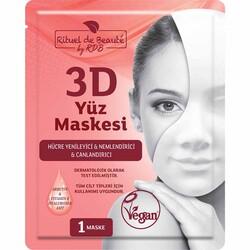 Rituel De Beaute 3D Hücre Yenileyici ve Canlandırıcı Maske 2pk - Thumbnail