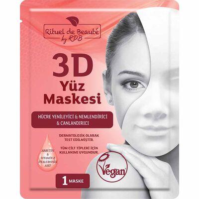 Rituel De Beaute 3D Hücre Yenileyici ve Canlandırıcı Maske 2pk