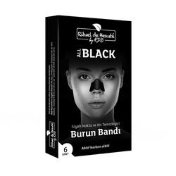 Rituel de Beaute - Rituel De Beaute Black Aktif Karbon Siyah Nokta ve Kir Temizleyici Burun Bandı 1 Kutu