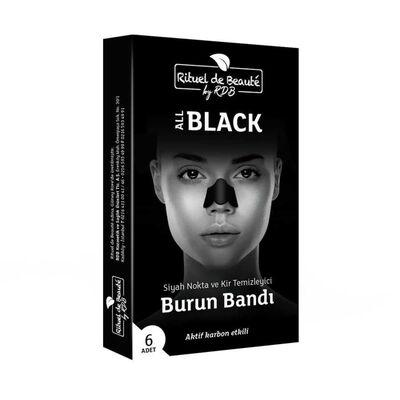 Rituel De Beaute Black Aktif Karbon Siyah Nokta Temizleyici Bant 2Kutu