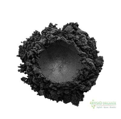 Sampure Minerals Mineral Göz Farı Işıltılı Siyah 1gr