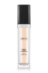 Sampure Minerals - Sampure Minerals Mineral Liquid Foundation Likit Fondöten 110 Light Beige 30ML