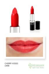 Sampure Minerals - Sampure Minerals Mineral Mat Ruj Cherry Kisses 4g