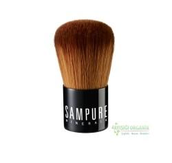 Sampure Minerals - Sampure Minerals Mini Vegan Kabuki Brush Fırça