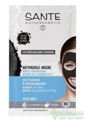 Sante Aktif Karbon Yüz Maskesi