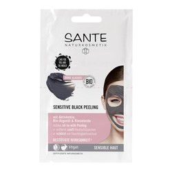 Sante - Sante Hassas Ciltler İçin Siyah Karbon Peeling Maske