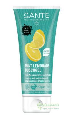 Sante Organik Duş Jeli Organik Nane ve Limon Özlü