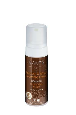 SANTE Organik Erkek Traş Köpüğü (Kafein ve Acai) 150ml