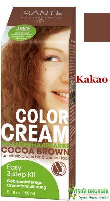 Sante Organik Krem Saç Boyası Kakao 150 ml