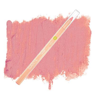 Sante Organik Yumuşak Renk Veren Dudak Kontur Kalemi 01 Yumuşak Gül