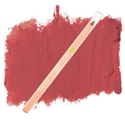 Sante Organik Yumuşak Renk Veren Dudak Kontur Kalemi 02 Yaz Yemişi