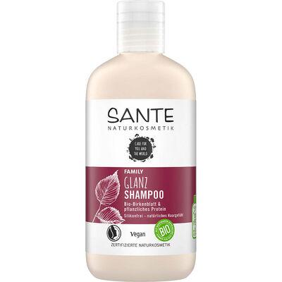 Sante Parlaklık Veren Huş Yaprağı ve Bitkisel Protein Aile Şampuanı 250ML
