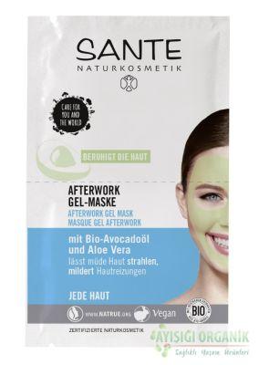 Sante Yorgunluk Giderici Avokado Yağı ve Aloe Vera Jel Maske
