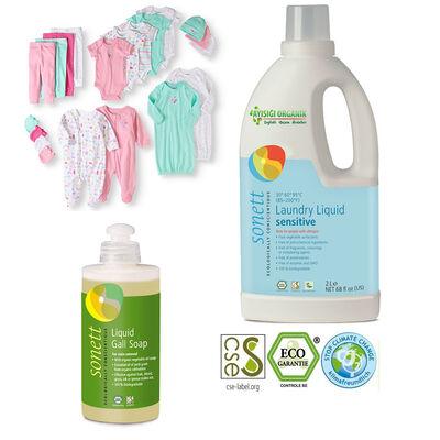 Sonett Bebeklere Özel Organik Leke Çıkarıcı Çamaşır Yıkama Seti