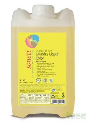 Sonett Organik Çamaşır Yıkama Sıvısı (Renkliler) 5L