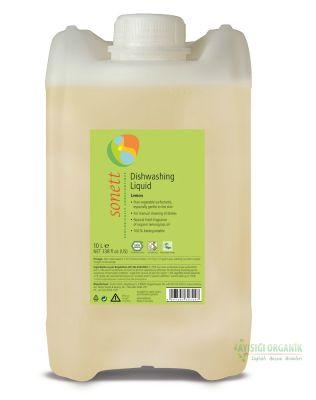 Sonett Organik Elde Bulaşık Yıkama Sıvısı (Limonlu) 10L