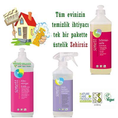 Sonett Organik Genel Ev Temizlik Paketi