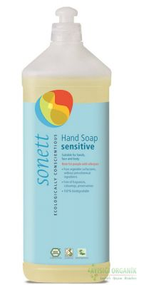 Sonett Organik Hassas Sıvı El Sabunu 1L