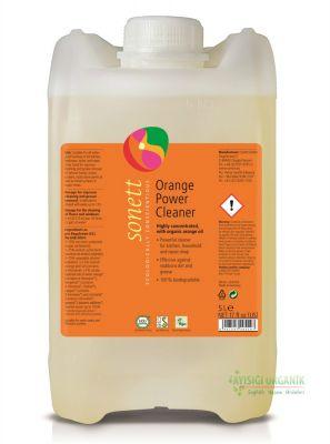 Sonett Portakallı Güçlü Genel Temizleyici 5 Litre