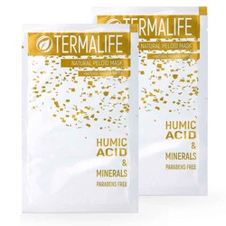 Termalife - TERMALİFE Humic Asid Peloid Yüz Maskesi Deneme Paketi 2pk x 20gr