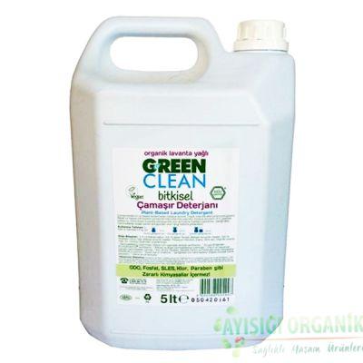 U Green Clean Organik Çamaşır Deterjanı (Lavanta Yağlı) 5L