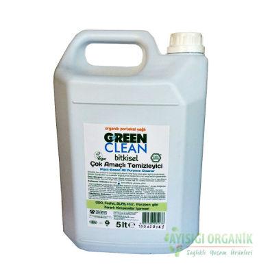 U Green Clean Organik Çok Amaçlı Temizleyici Portakal Yağlı 5 LT