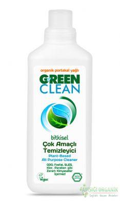 U Green Clean Organik Çok Amaçlı Temizleyici Portakal Yağlı 1lt