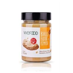 Wefood - Wefood Şekersiz Ham Ballı Fıstık Ezmesi 300 gr
