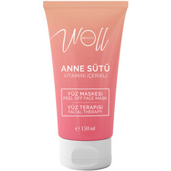 Woll Beauty - Woll Beauty Peel Of Anne Sütü Vitamin İçerikli Soyulabilir Yüz Maskesi 150ML