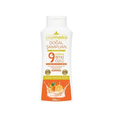 Yeşilmarka 9 Bitki Özlü Doğal Şampuan Yağlı Saçlar
