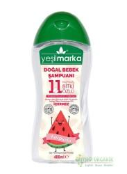Yeşilmarka Doğal Bebek Şampuanı 11 Bitki Özlü 400ml 2 adet - Thumbnail