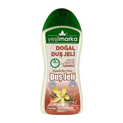 Yeşilmarka Doğal Duş Jeli Vanilya 400ML