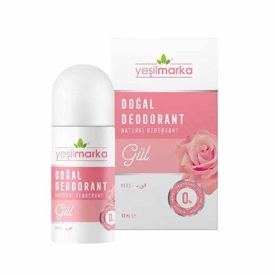 Yeşilmarka Doğal Gül Kokulu Roll On Deodorant
