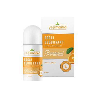 Yeşilmarka Doğal Portakal Kokulu Roll On Deodorant