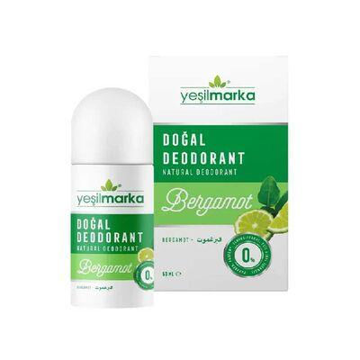 Yeşilmarka Doğal Roll On Deodorant Bergamot Kokulu
